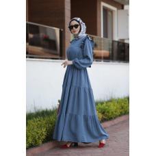 Платье с ярусами